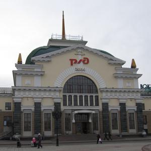 Железнодорожные вокзалы Старого Дрожжаного